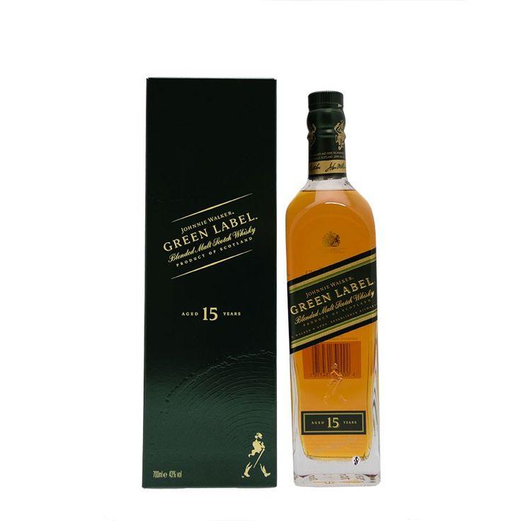 Johnnie Walker Green Label 15 ans 43°