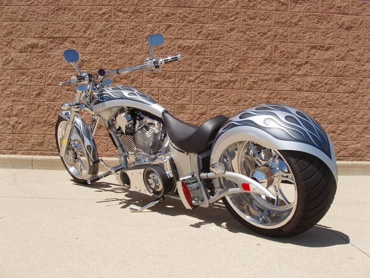Harley Davidson motorcycles: Choppers and modified Motorcycles