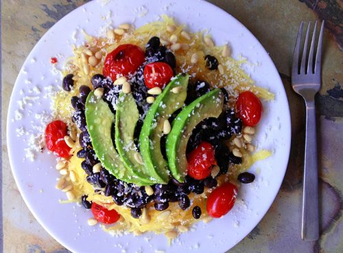 Roasted Spaghetti Squash With Avocado Recipes — Dishmaps