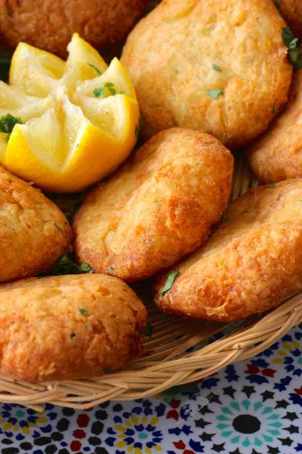 Maaqouda - Algerian potato fritter                                                                                                                                                                                 More