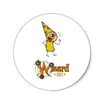 Do you love stickers as much as we do‽    Wizard101 Stickers at Zazzle!