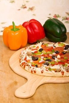 Pizza Dough Recipe Without Yeast - fast version!