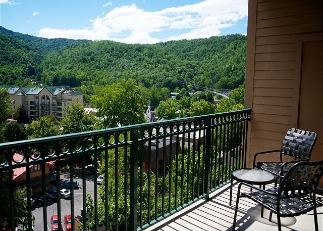 Condo 3001 -- Grab your favorite beverage and head outside to the balcony to soak in the views of Gatlinburg and the beautiful Smoky Mountains