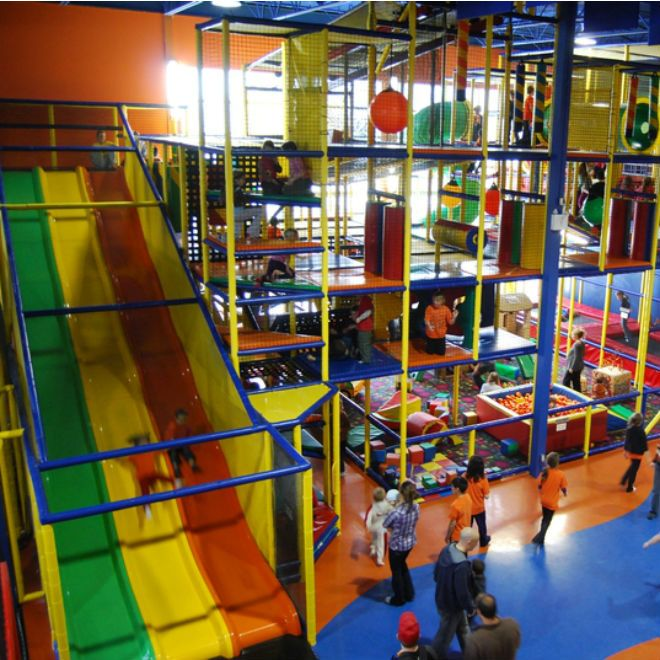 These climbers, slides and ball pits are ready for action anytime of the year. Check out the best indoor playgrounds in Canada!