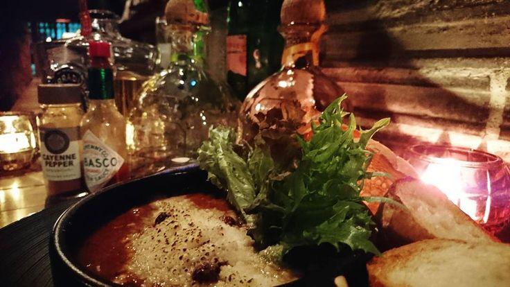 チリコンカンとテキーラ 辛さお好みで増して下さい  #tepuira#tepuirafesta#tepuirafestanagoya #patron  #蔵真#バー蔵真#大野町#常滑#愛知県#kurama#oonomachi#tokoname#aichi#Japan#bar#bartender#cocktail#bartenderlife