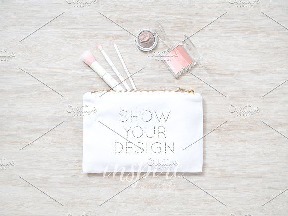 Download Cosmetic Make Up Bag Mockup Psd Jpg Bag Mockup Create Your Own Image Mockup Psd