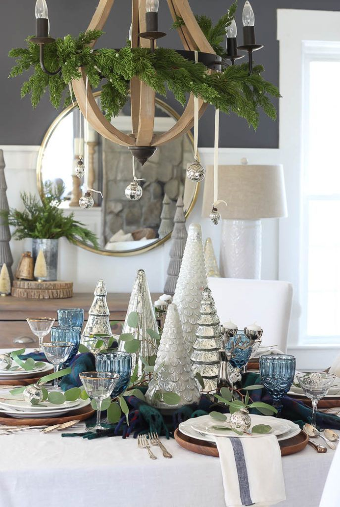 Eclectic Christmas 2019 Eclectic Christmas Tablescape | 2018 #christmasdecor #tablescapes
