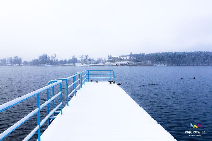#wagrowiec #wielkopolska #polska #poland #wągrowiec #jeziorodurowskie #lake #zima #winter #snow #śnieg Fot. Łukasz Cieślak