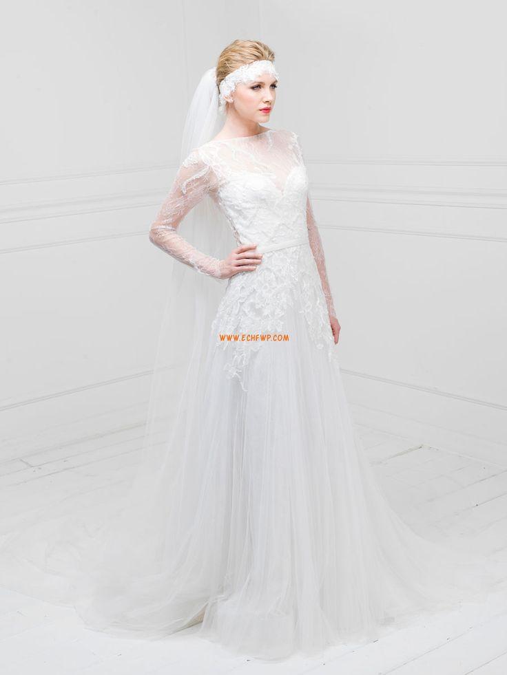 Chiesa Trapezio Vestitini bianchi Abiti Da Sposa 2014