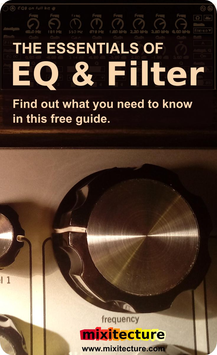 You only need 7 kinds of EQ.  Find out what they are in this FREE Ableton Live music production tutorial for beginners