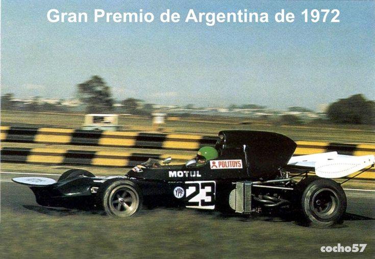March 711 Cosworth -Henry Pescarolo -team Williams (1972)Gp Argentina