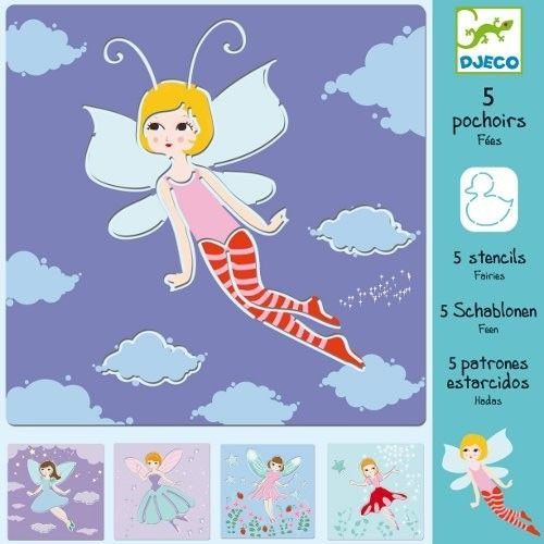 sjablonen feeën | djeco