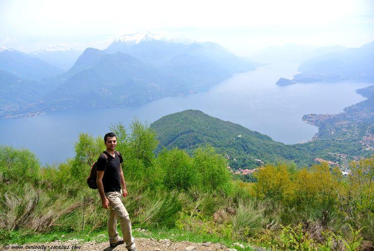 Sur le chemin du Rifugio Menaggio – Lac de Côme