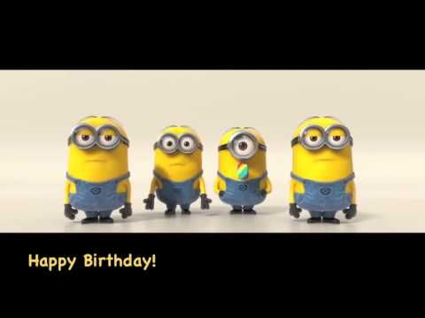 Minions Happy Birthday song Crazy Funny War Edition - YouTube