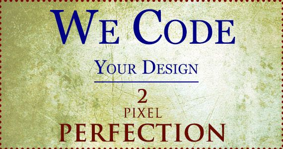 How to code an HTML5 webpage from a Photoshop design file: Part2