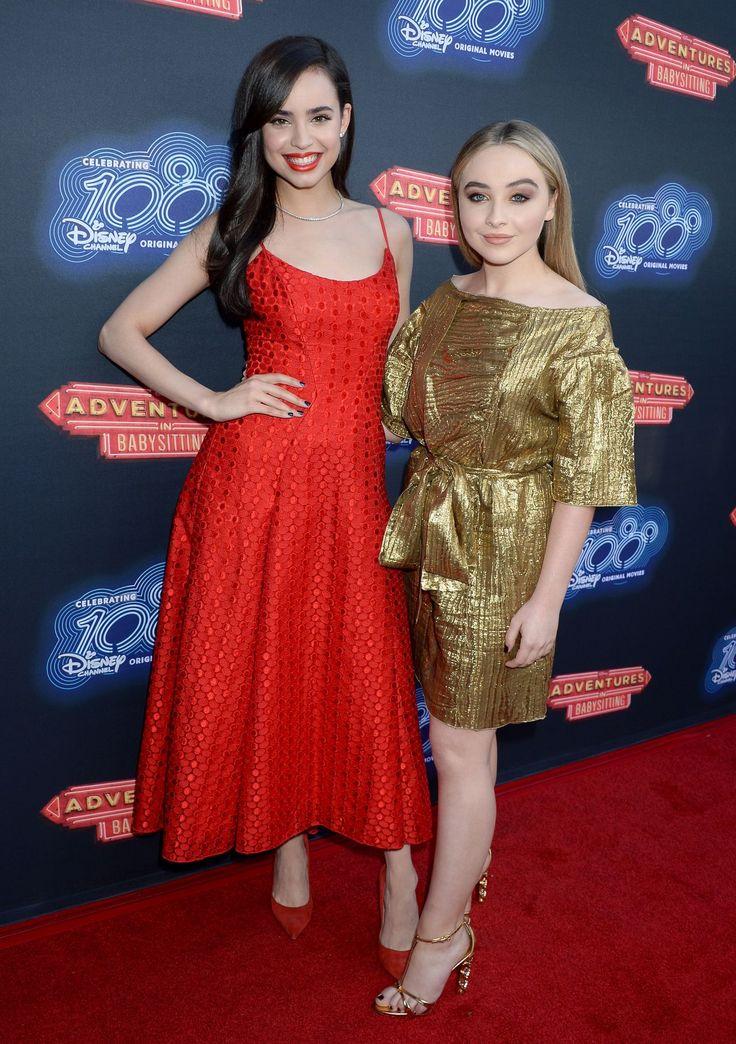 Sabrina Carpenter // 'Adventures in Babysitting' Premiere #100DCOMs