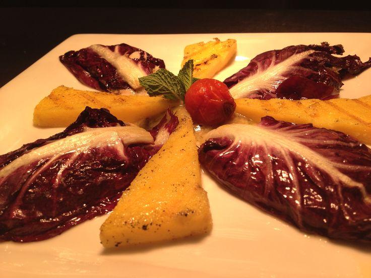 Filetti di cefalo in foglia di radicchio rosso di Verona