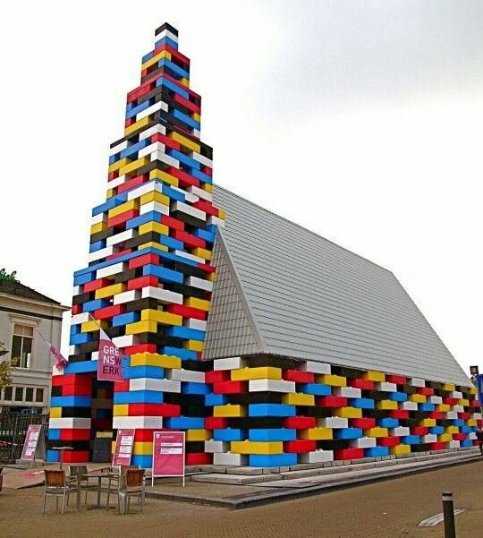 Lego-kerk Enschede, The Netherlands