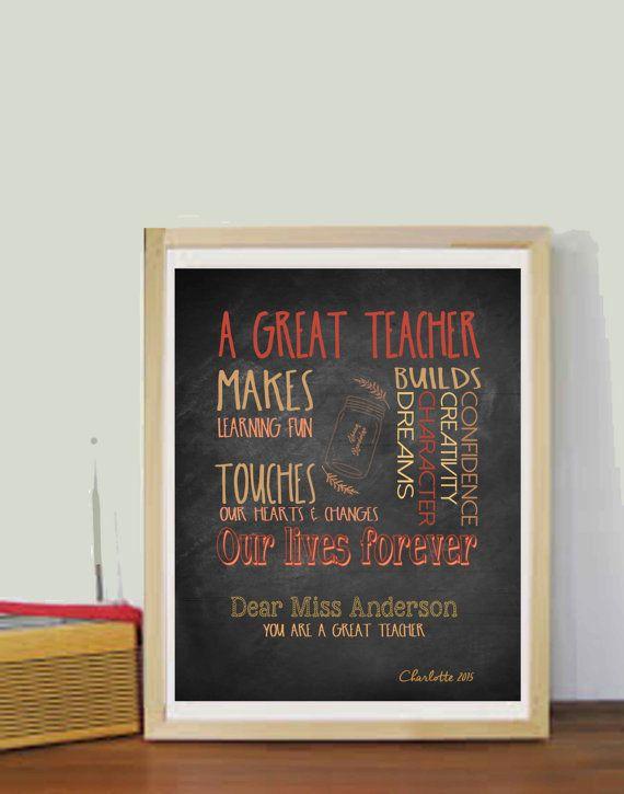 Teacher Gifts Teacher Appreciation Gift Personalized Teacher