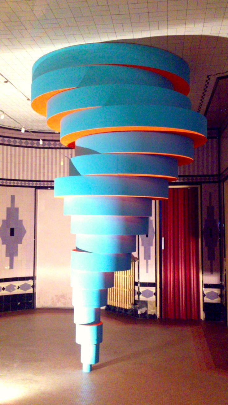 StormSharyRoom, mariotti.mazzeo, 2013, acrilici su polistirene, 350x200 cm - Ignazio Mazzeo #art #sculpture #ignaziomazzeo #tornado