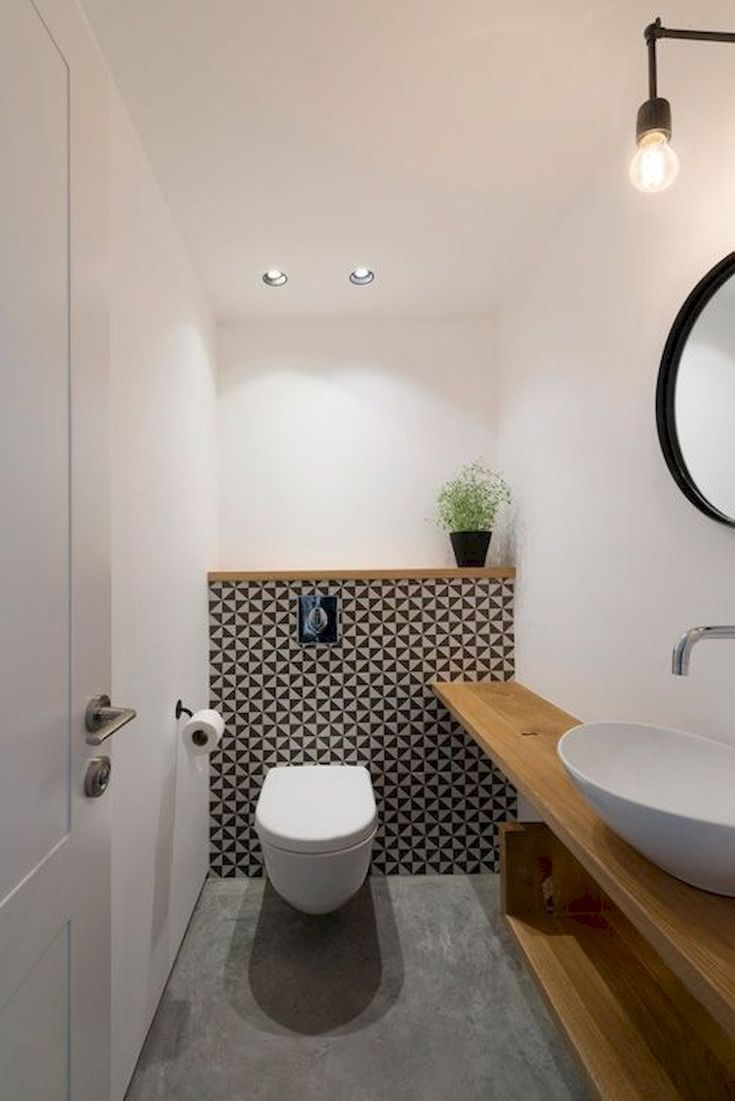 Small Toilet182 – Home to Z – #Home #powderrooms #…