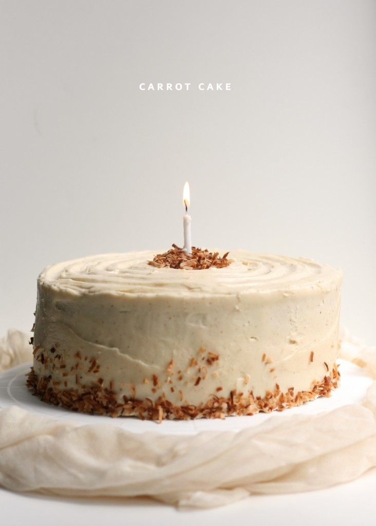 // Carrot Cake with Brown Butter Cream Cheese Frosting
