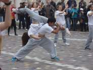 Monastiraki Hobo illusionerz Flash Mob photos plus ....backstage, sponsored by Creative People