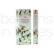 120 Hem French Vanilla Incense Sticks.