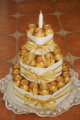 Kifli és levendula - torta férfiaknak
