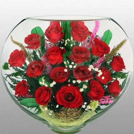 13_5 Цветы в стекле! ~ вакуум ~