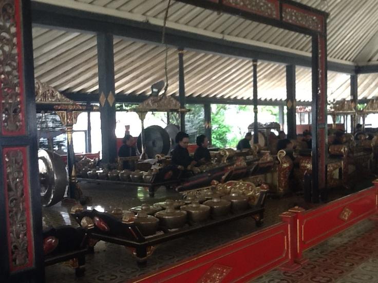 Yogyakarta traditional music, gamelan