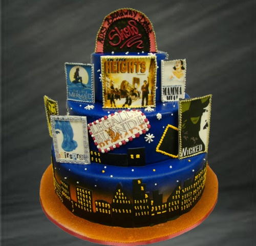 22 Best Images About Broadway Party Theme On Pinterest: 13 Best Broadway Themed Cake Images On Pinterest