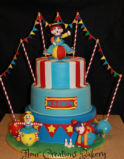 16 best Harpers 3rd Birthday images on Pinterest Circus birthday