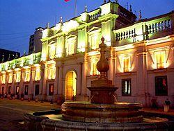 Palacio de La Moneda - Wikipedia, la enciclopedia libre