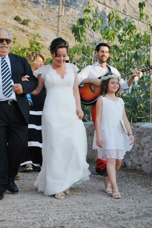 ΠΡΑΓΜΑΤΙΚΟΙ ΓΑΜΟΙ,στολισμος γαμου στην Υδρα