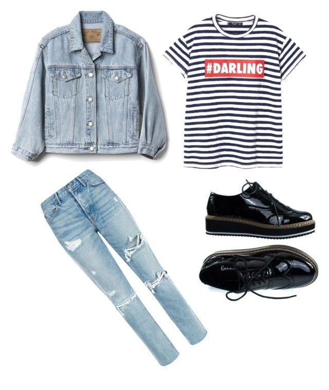 """// back to school // #2"" by bloginprogresss on Polyvore featuring GRLFRND, Gap and MANGO"