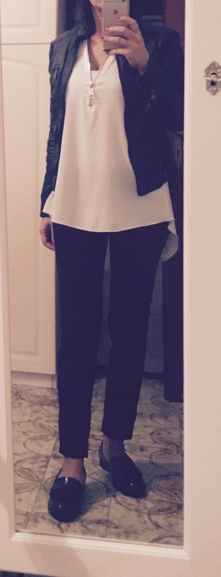 Outfit semplice da giorno/lavoro