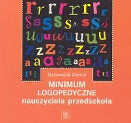 Minimum logopedyczne nauczyciela przedszkola-Demel Genowefa