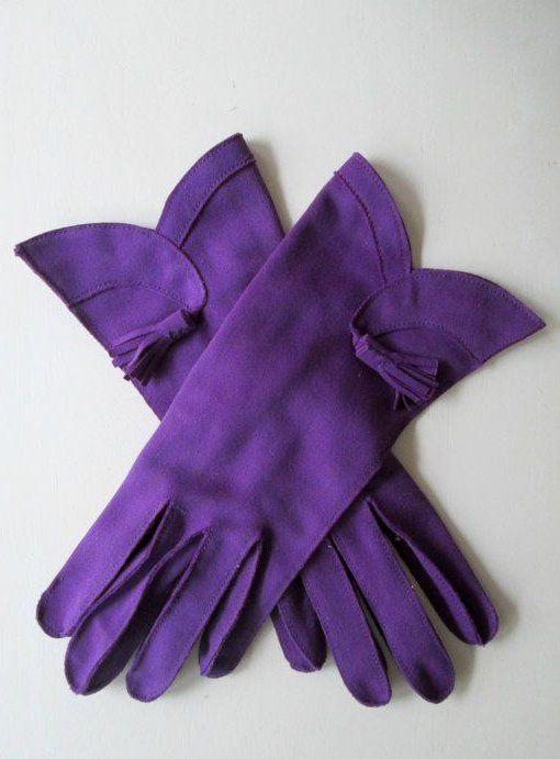 Tassle Gloves Vintage #fitnessgloves