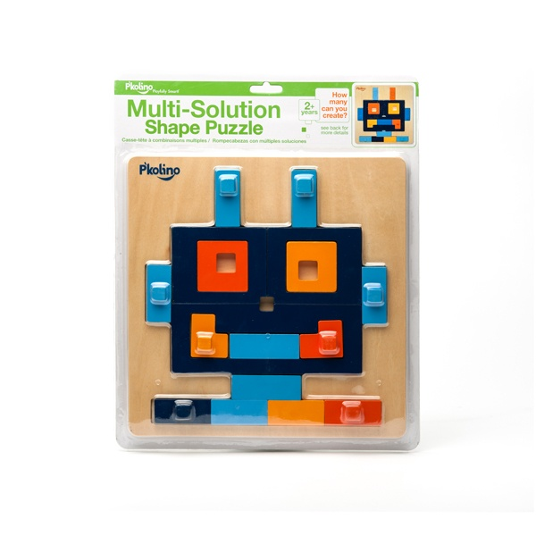 A cool robot puzzle from P'kolino!