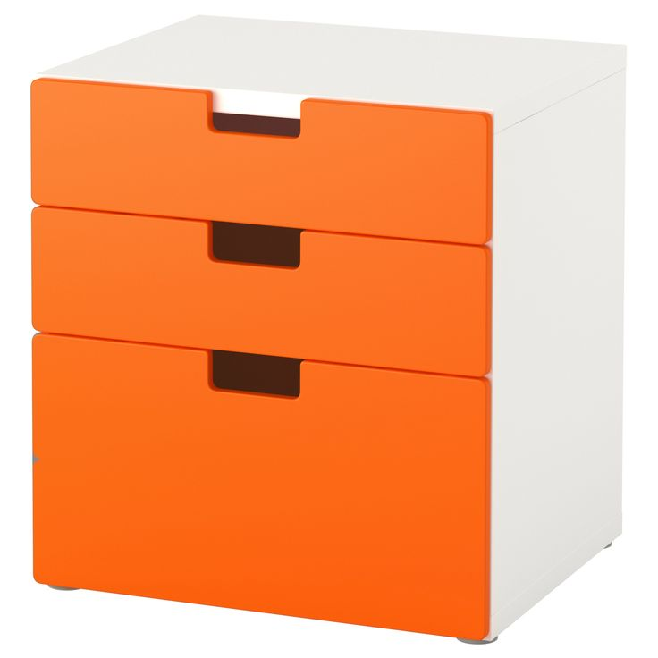 Image result for ikea orange drawers