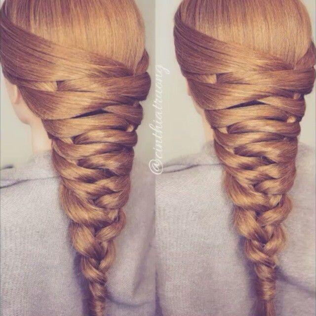 Press ▶Easy Tier Braid Tutorial Song: Love Me Like You Do [Ellie Goulding] ☆☆♡♡☆☆♡♡☆☆ #cinthiatruong #hairandstyles #hairtutorial #wakeupandmakeup #vegas_nay #hudabeauty #americanstyle #laurag_143