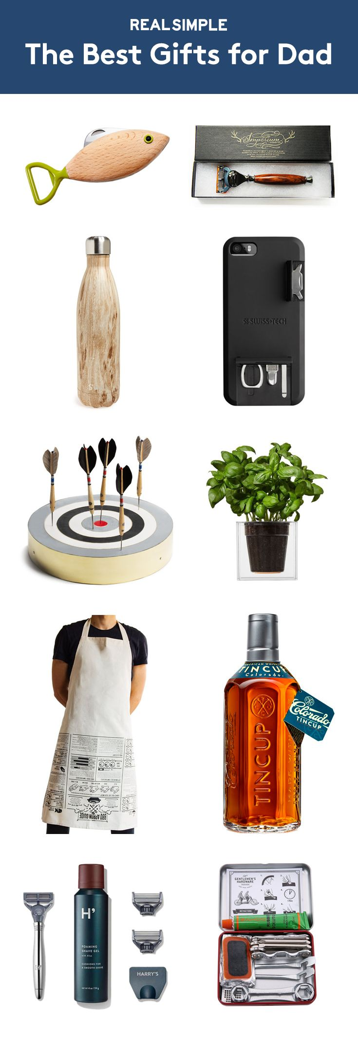 The Best Gifts for Dad | From quirky and creative to sentimental, these picks work for even the hardest-to-shop-for dad.