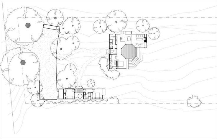 adelaparvu.com despre casa minimalista pe malul marii, Arhitectura Turnbull Griffin Haesloop, Foto David Wakely (17)