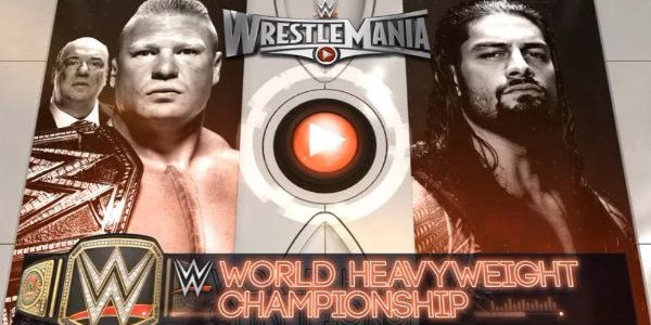 Brock Lesnar vs Roman Reigns Now That Lesnar Re-Signed