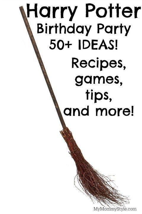 Harry Potter birthday party, harry potter, hogwarts, party, my mommy style