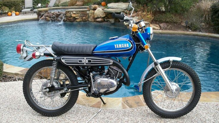 1973 YAMAHA AT3 125 ENDURO MOTORCYCLE