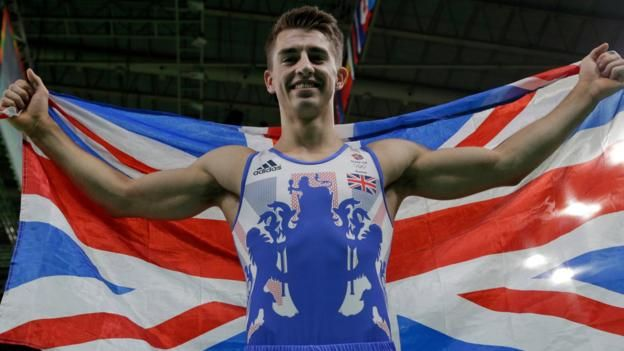 Gymnast Max Whitlock wins Olympic gold in the men's floor exercise to create…