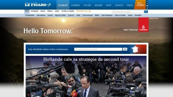 Emirates - Hello Tomorrow - Lendemain du 1er tour des présidentielles 2012