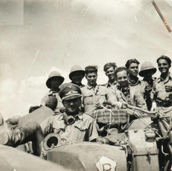 Fallshirmjager Brigade Ramcke North Africa, motorcycle pith helmet tropenhelm. Pin by Paolo Marzioli